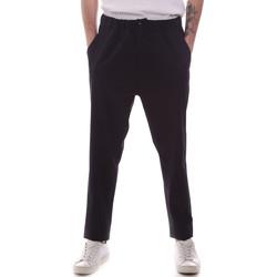 Odjeća Muškarci  Chino hlačei hlače mrkva kroja Gaudi 111GU25069 Plava