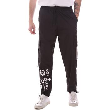 Odjeća Muškarci  Cargo hlače Disclaimer 21EDS50560 Crno