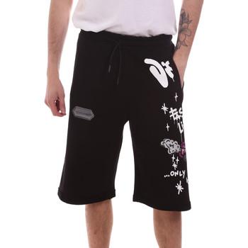 Odjeća Muškarci  Bermude i kratke hlače Disclaimer 21EDS50518 Crno