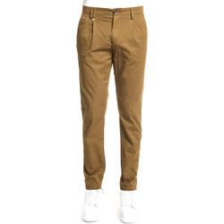 Odjeća Muškarci  Chino hlačei hlače mrkva kroja Gaudi 111GU25008 Smeđa