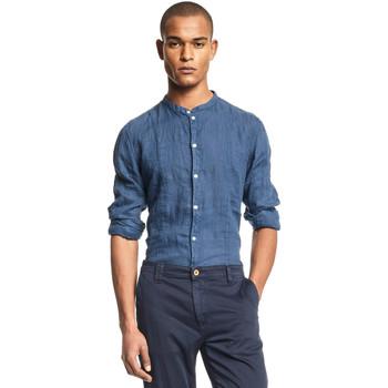 Odjeća Muškarci  Košulje dugih rukava Gaudi 111GU45006 Plava