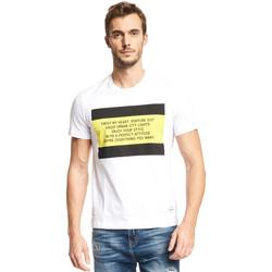 Odjeća Muškarci  Majice kratkih rukava Gaudi 111GU64071 Bijela