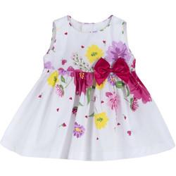 Odjeća Djevojčica Kratke haljine Chicco 09003900000000 Bijela
