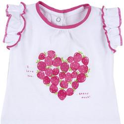 Odjeća Djevojčica Majice kratkih rukava Chicco 09067088000000 Bijela