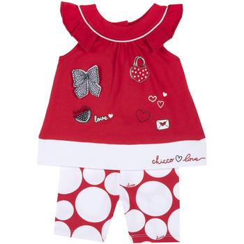 Odjeća Djevojčica Dječji kompleti Chicco 09076643000000 Crvena