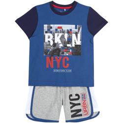 Odjeća Dječak  Dječji kompleti Chicco 09076963000000 Plava