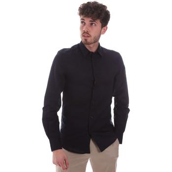 Odjeća Muškarci  Košulje dugih rukava Antony Morato MMSL00628 FA400074 Plava