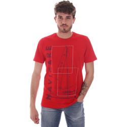 Odjeća Muškarci  Majice kratkih rukava Navigare NV31109 Crvena