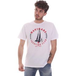 Odjeća Muškarci  Majice kratkih rukava Navigare NV31113 Bijela