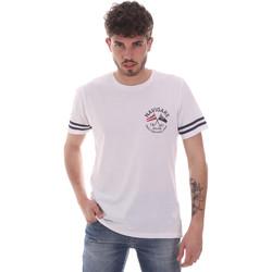Odjeća Muškarci  Majice kratkih rukava Navigare NV31123 Bijela