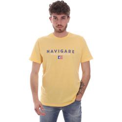 Odjeća Muškarci  Majice kratkih rukava Navigare NV31139 Žuta boja