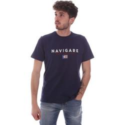Odjeća Muškarci  Majice kratkih rukava Navigare NV31139 Plava