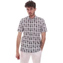 Odjeća Muškarci  Košulje kratkih rukava Antony Morato MMSS00169 FA430473 Bijela