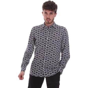 Odjeća Muškarci  Košulje dugih rukava Antony Morato MMSL00614 FA430480 Crno