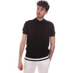 Odjeća Muškarci  Polo majice kratkih rukava Antony Morato MMSW01174 YA500057 Crno