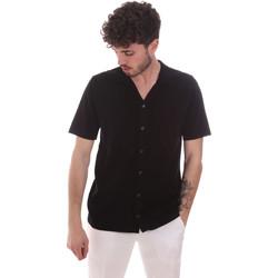 Odjeća Muškarci  Košulje kratkih rukava Antony Morato MMSW01183 YA100063 Crno