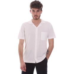Odjeća Muškarci  Košulje kratkih rukava Antony Morato MMSW01183 YA100063 Bijela