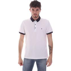 Odjeća Muškarci  Polo majice kratkih rukava Navigare NV82124 Bijela