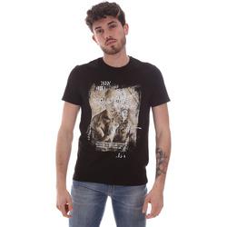 Odjeća Muškarci  Majice kratkih rukava Gaudi 111GU64091 Crno