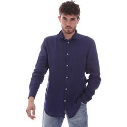 Odjeća Muškarci  Košulje dugih rukava Gaudi 111GU45005 Plava