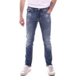 Odjeća Muškarci  Slim traperice Gaudi 111GU26007L32 Plava