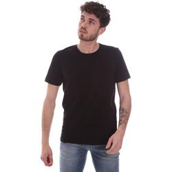 Odjeća Muškarci  Majice kratkih rukava Gaudi 111GU64048 Crno