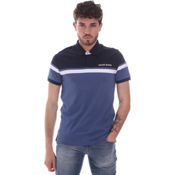 Odjeća Muškarci  Polo majice kratkih rukava Gaudi 111GU64104 Plava