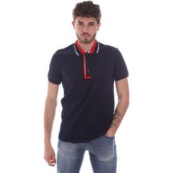 Odjeća Muškarci  Polo majice kratkih rukava Gaudi 111GU64105 Plava
