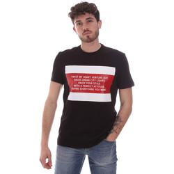 Odjeća Muškarci  Majice kratkih rukava Gaudi 111GU64071 Crno
