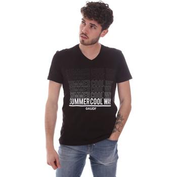 Odjeća Muškarci  Majice kratkih rukava Gaudi 111GU64069 Crno