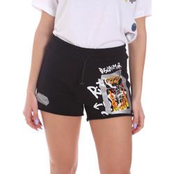 Odjeća Žene  Bermude i kratke hlače Disclaimer 21EDS50650 Crno