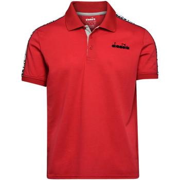 Odjeća Muškarci  Polo majice kratkih rukava Diadora 102175672 Crvena