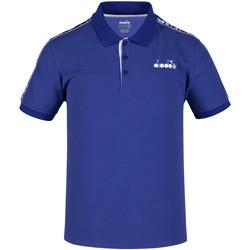 Odjeća Muškarci  Polo majice kratkih rukava Diadora 102175672 Plava