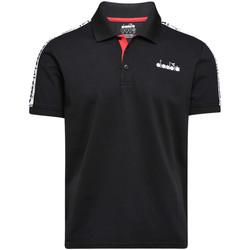 Odjeća Muškarci  Polo majice kratkih rukava Diadora 102175672 Crno
