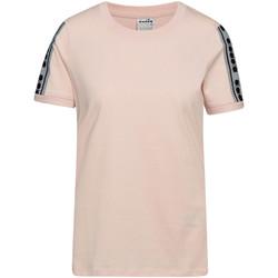 Odjeća Žene  Majice kratkih rukava Diadora 502175812 Ružičasta