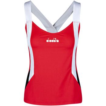 Odjeća Žene  Majice s naramenicama i majice bez rukava Diadora 102175658 Crvena