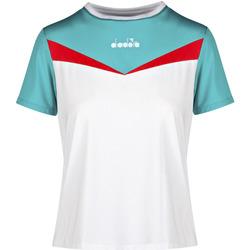 Odjeća Žene  Majice kratkih rukava Diadora 102175659 Bijela
