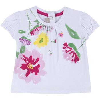 Odjeća Djevojčica Majice kratkih rukava Chicco 09067270000000 Bijela