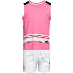 Odjeća Djeca Dječji kompleti Diadora 102175915 Ružičasta