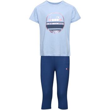 Odjeća Djeca Dječji kompleti Diadora 102175918 Plava