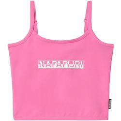 Odjeća Žene  Majice s naramenicama i majice bez rukava Napapijri NP0A4FHI Ružičasta