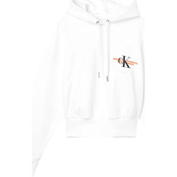 Odjeća Žene  Sportske majice Calvin Klein Jeans J20J216351 Bijela