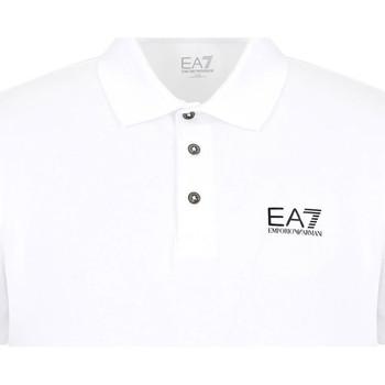 Odjeća Muškarci  Polo majice kratkih rukava Ea7 Emporio Armani 8NPF04 PJM5Z Bijela
