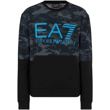 Odjeća Muškarci  Sportske majice Ea7 Emporio Armani 3KPM43 PJ5BZ Crno