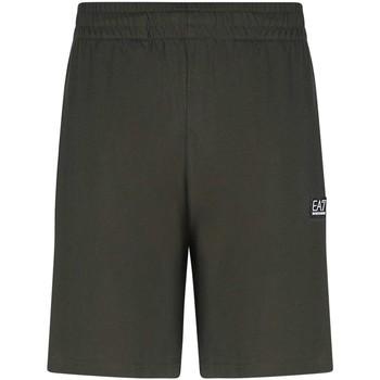 Odjeća Muškarci  Bermude i kratke hlače Ea7 Emporio Armani 3KPS53 PJ7BZ Zelena