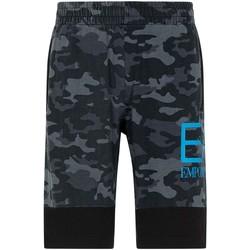 Odjeća Muškarci  Bermude i kratke hlače Ea7 Emporio Armani 3KPS60 PJ5BZ Crno