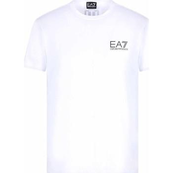 Odjeća Muškarci  Majice kratkih rukava Ea7 Emporio Armani 3KPT06 PJ03Z Bijela