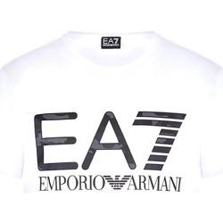 Odjeća Muškarci  Majice kratkih rukava Ea7 Emporio Armani 3KPT27 PJ7CZ Bijela
