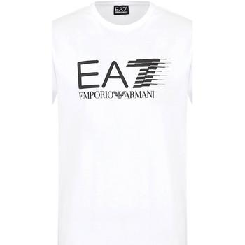 Odjeća Muškarci  Majice kratkih rukava Ea7 Emporio Armani 3KPT39 PJ02Z Bijela