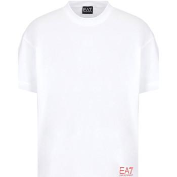 Odjeća Muškarci  Majice kratkih rukava Ea7 Emporio Armani 3KPT58 PJ02Z Bijela